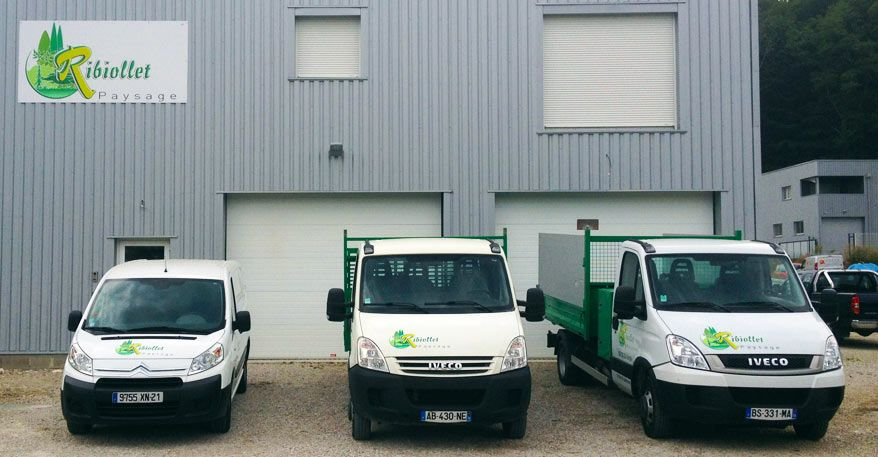 entrepot vehicules ribiollet paysage