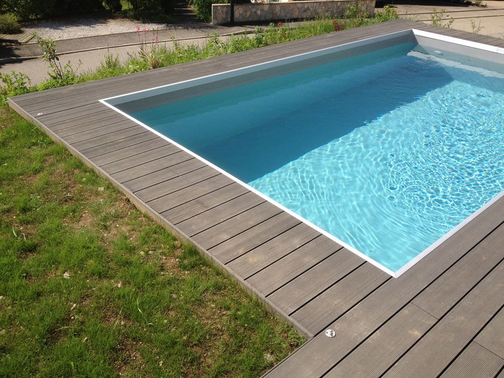 terrasse de piscine en bois composite diverses id es de conception de patio en. Black Bedroom Furniture Sets. Home Design Ideas