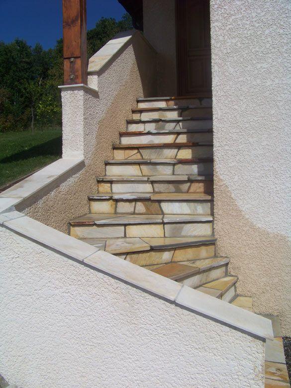 escalier en naturelle obasinc