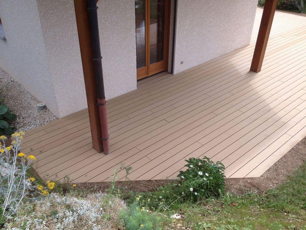 terrasse en bois composite rainur. Black Bedroom Furniture Sets. Home Design Ideas