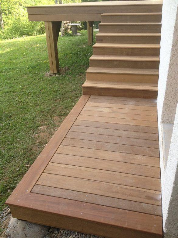 habillage terrasse bois pilotis diverses id es de conception de patio en bois. Black Bedroom Furniture Sets. Home Design Ideas