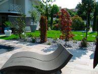 Aménagement paysager d'un jardin