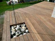 Terrasse en bois exotique (Ipé)