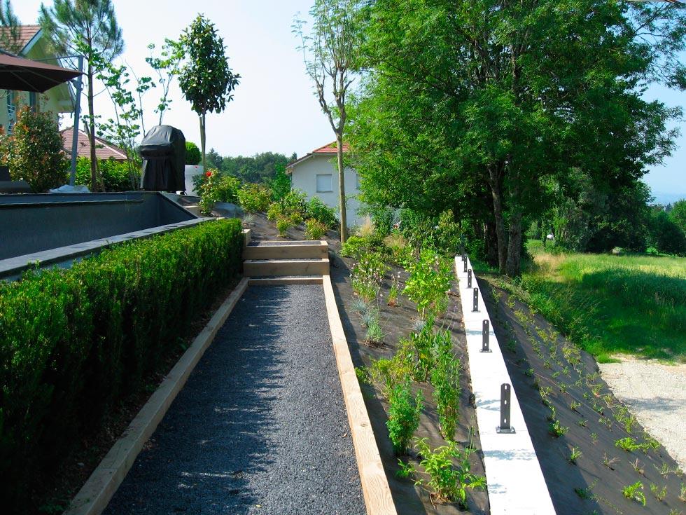 Am nagement paysager d 39 un jardin for Amenagement jardin 17