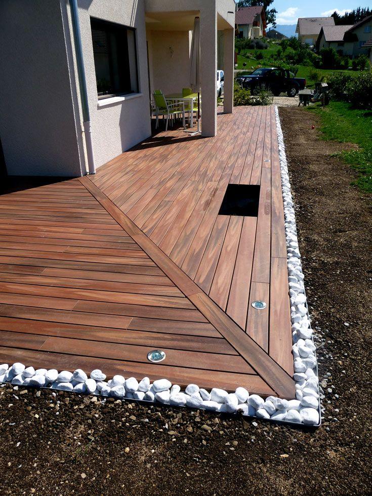 terrasse bois composite ribiollet paysage