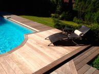 Aménagement piscine (bois exotique)